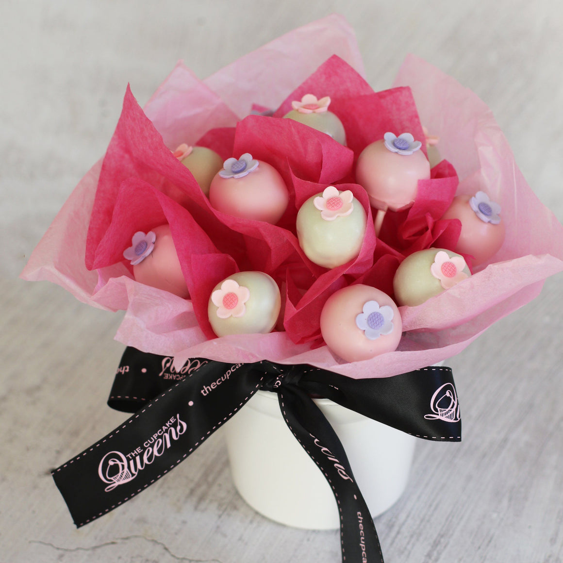 Mother's Day Cake Pop Bouquet Special Occasion The Cupcake Queens