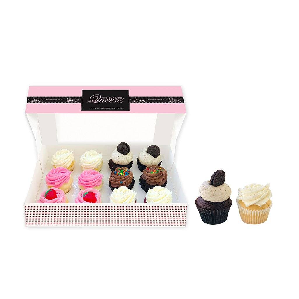 Mini Daily Favourites 12 Pack Cupcakes The Cupcake Queens