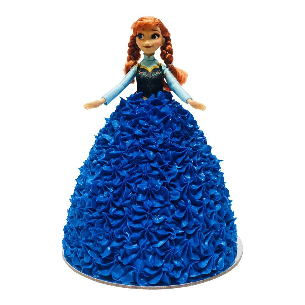 Anna Frozen Doll Cake Special Occasion The Cupcake Queens