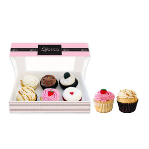 Daily Favourites Regular size 6 Pack Cupcakes The Cupcake Queens