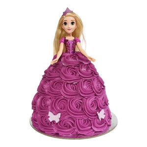 Rapunzel Doll Cake Special Occasion The Cupcake Queens