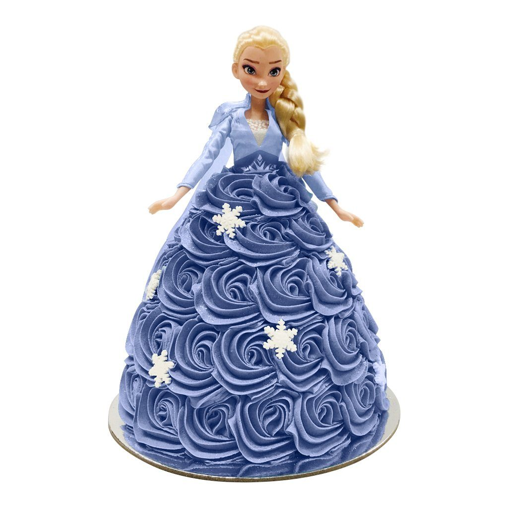 Elsa Frozen 2 Doll Cake Special Occasion The Cupcake Queens