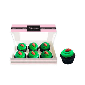 Football ONLY Cupcakes Regular Size - 6 Pack