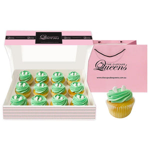 Baby Green Deluxe Cupcakes The Cupcake Queens