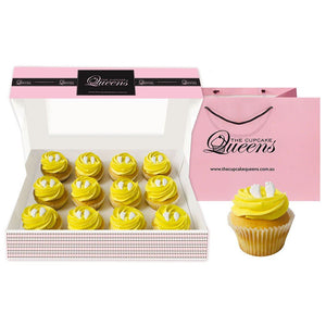 Baby Yellow Deluxe Cupcakes The Cupcake Queens