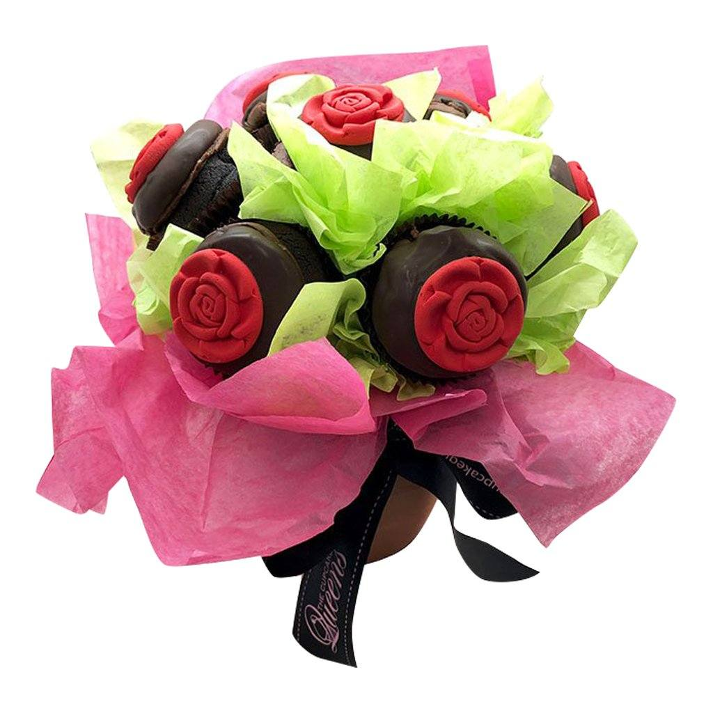 Cupcake bouquet chocolate the cupcake queens cupcake bouquet chocolate izmirmasajfo