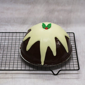 Christmas Chocolate Mud Pudding Cake