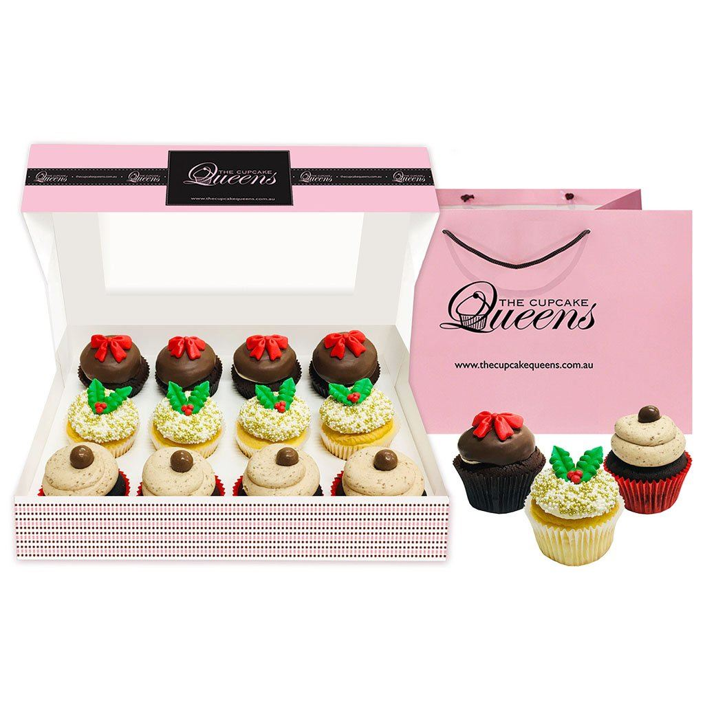 Christmas Deluxe Regular Gift Box Special Occasion The Cupcake Queens