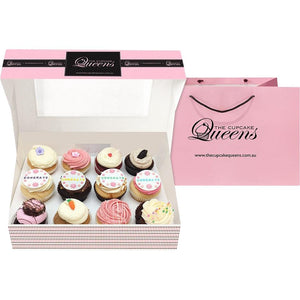 Congratulations Gift Box Cupcakes The Cupcake Queens