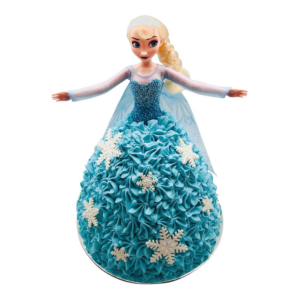 elsa frozen doll cake the cupcake queens