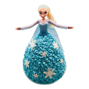 Elsa Frozen Doll Cake Special Occasion The Cupcake Queens