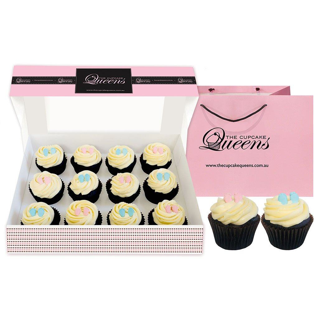 Baby Feet Unisex Gluten Friendly Cupcakes The Cupcake Queens