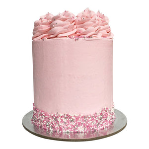 Pastel Pink Cake Special Occasion The Cupcake Queens