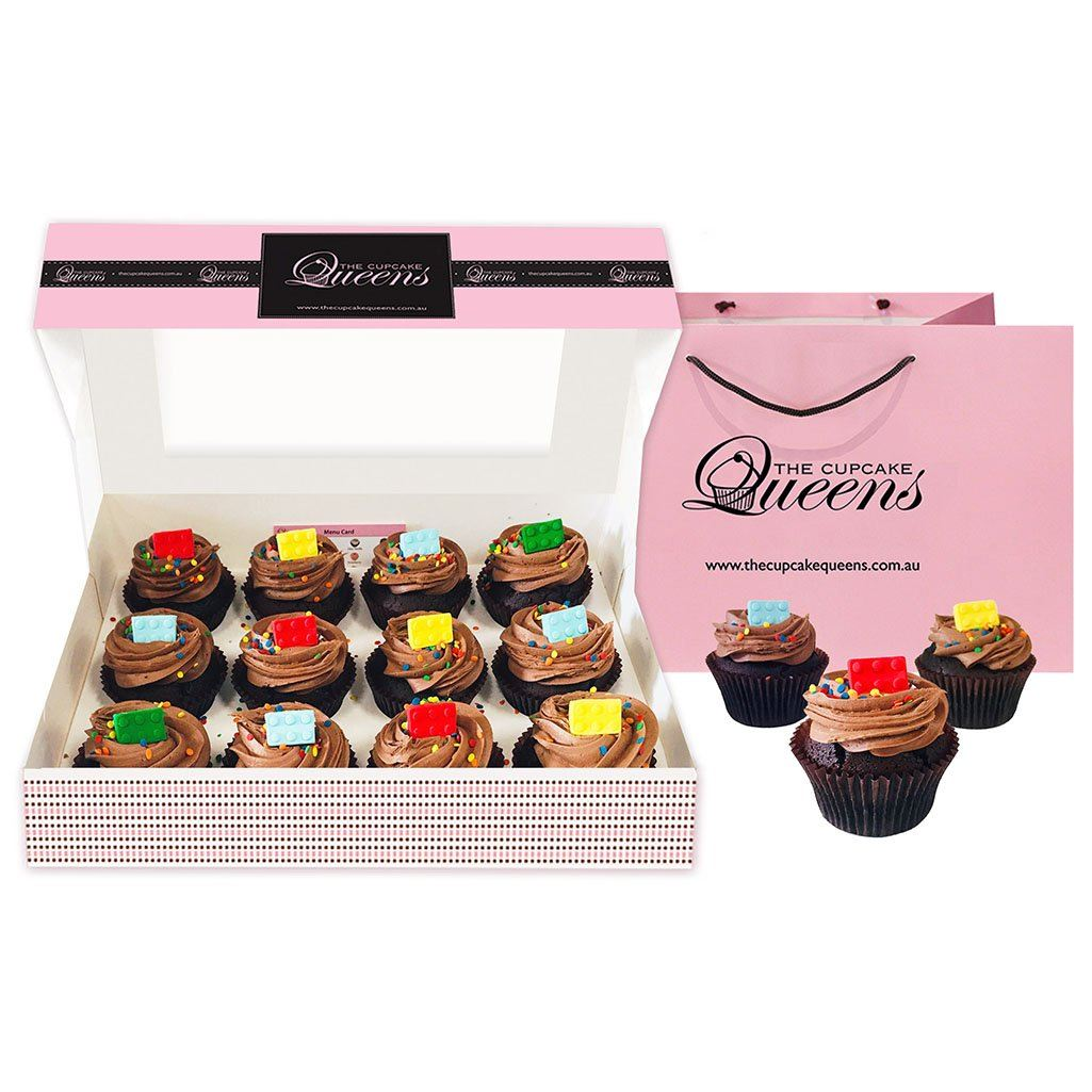 Lego Chocolate Gift Box Cupcakes The Cupcake Queens