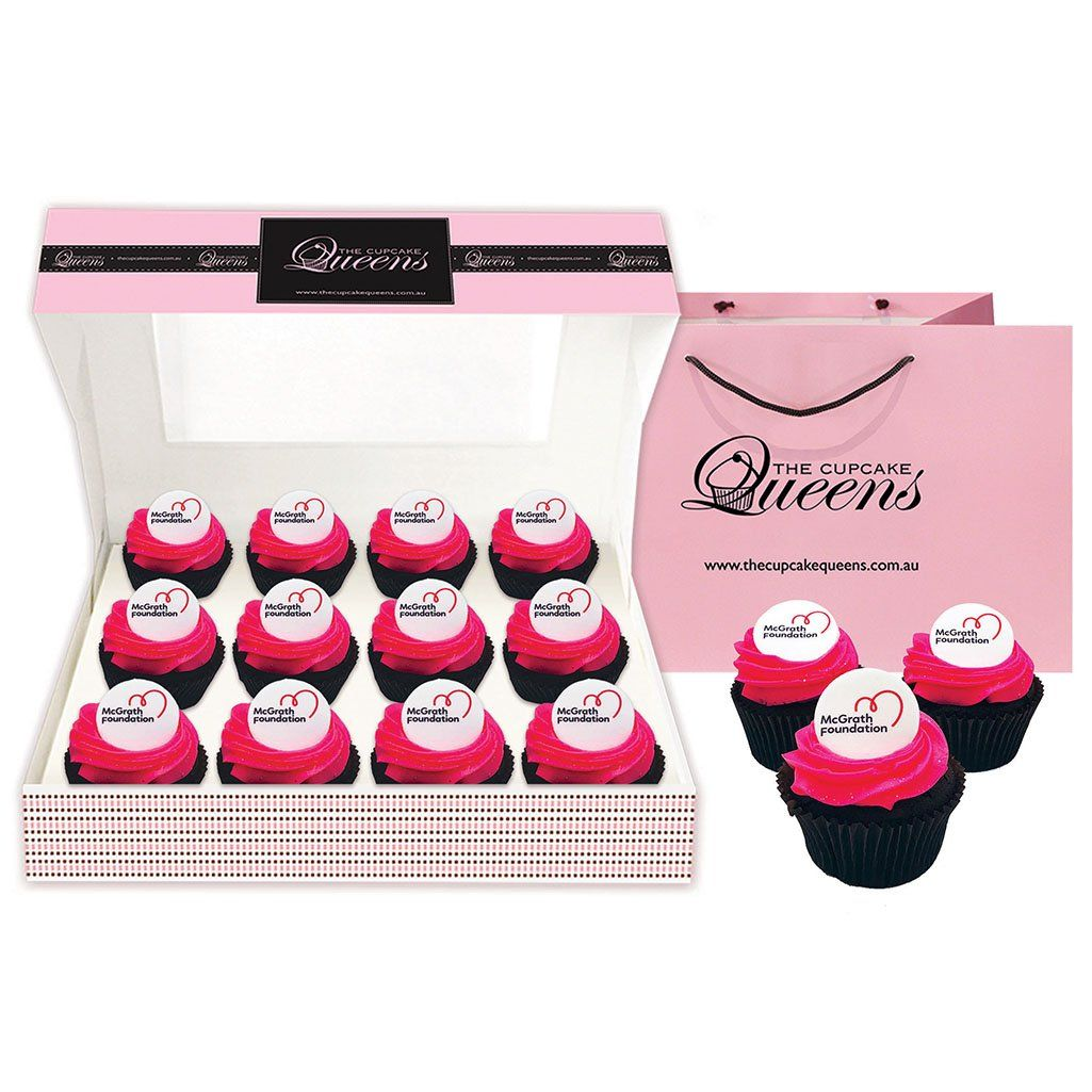 McGrath Foundation Cupcake Box
