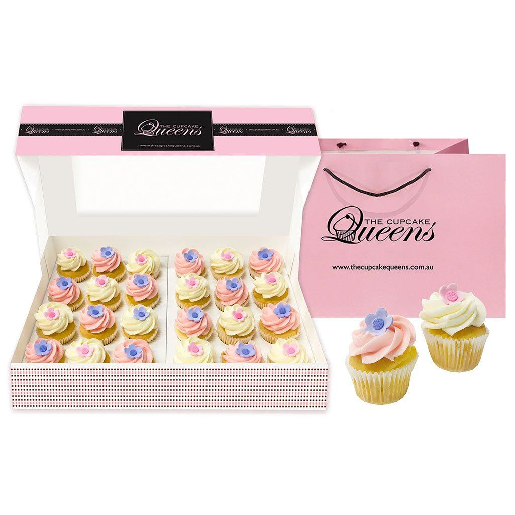 Flower Love Mini Cupcake Gift box Special Occasion The Cupcake Queens