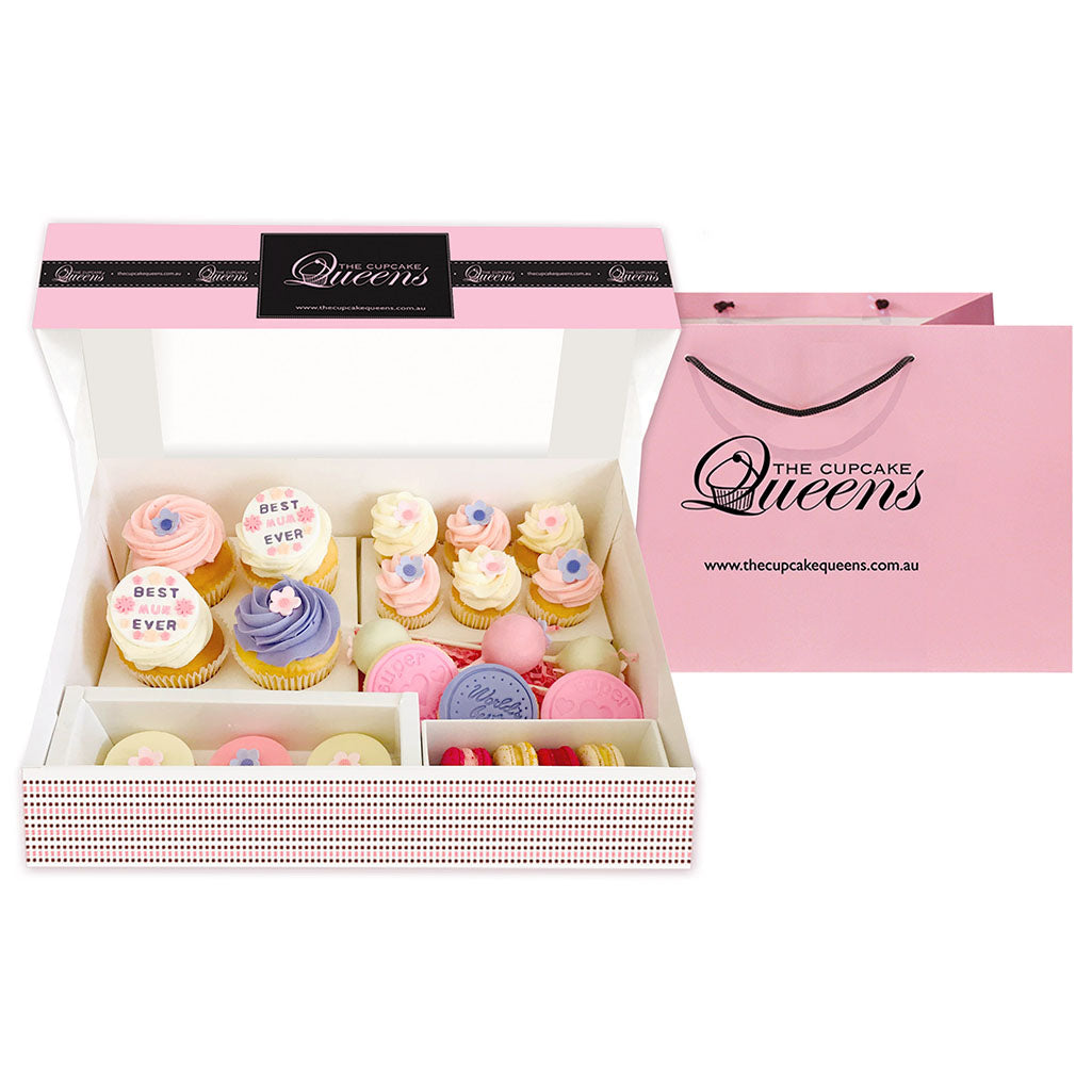 Mother's Day Super Deluxe Gift box Special Occasion The Cupcake Queens