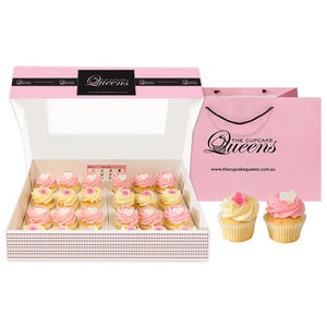 Hearts + Flowers Mini Cupcake Gift box 2019