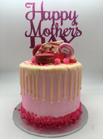 Mother's Day Drip Cake