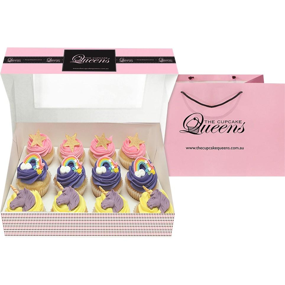 Rainbow and Unicorn Giftbox Special Occasion The Cupcake Queens