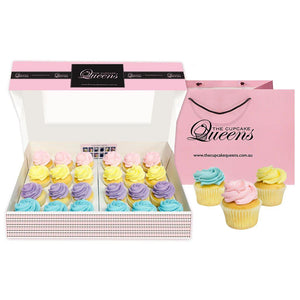 Pastel Mini Gift Box Cupcakes The Cupcake Queens