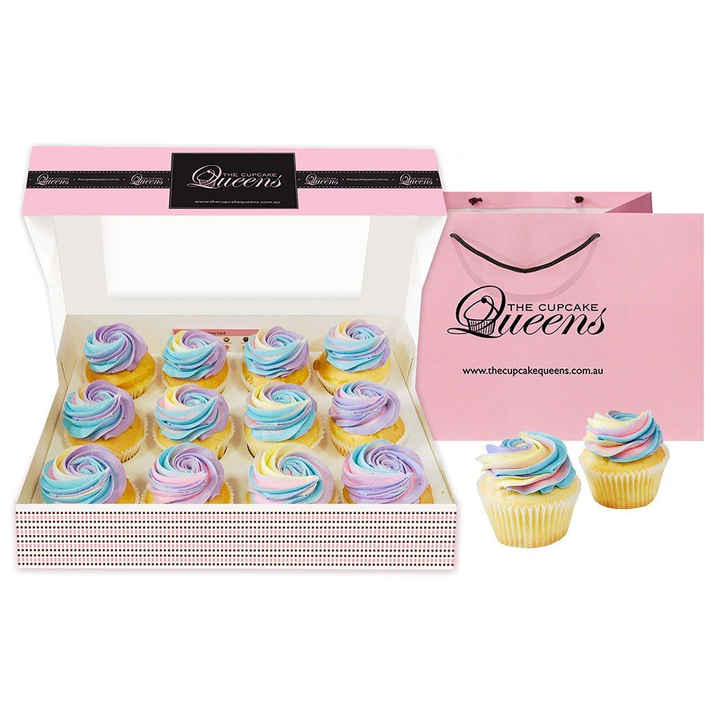 Over the Rainbow Giftbox Special Occasion The Cupcake Queens