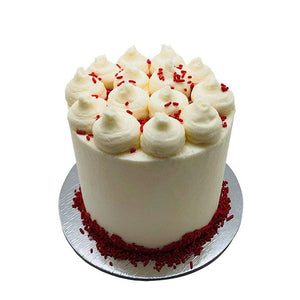 Red Velvet Cake - 5 Inch Special Occasion The Cupcake Queens