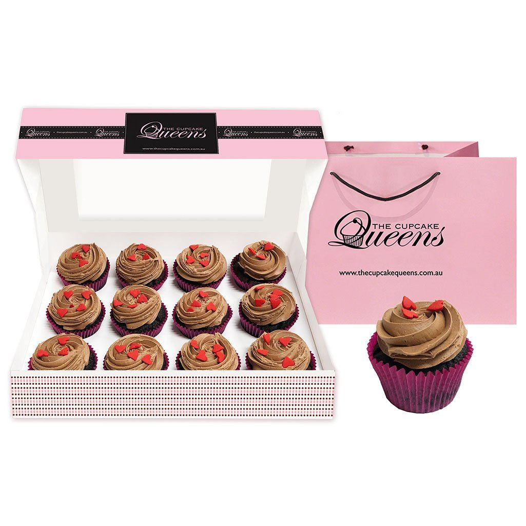 Vegan + Gluten Friendly LOVE Gift Box Special Occasion The Cupcake Queens