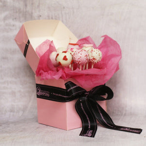 Be Mine Forever Cake Pop Box