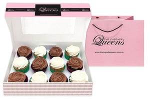 Vegan Gift Box (VF) Cupcakes The Cupcake Queens