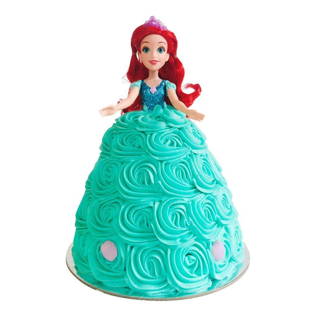 Ariel Doll Cake Special Occasion The Cupcake Queens