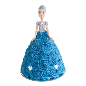 Cinderella Doll Cake Special Occasion The Cupcake Queens
