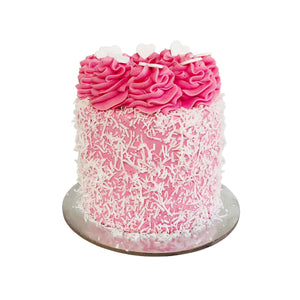 Raspberry Lamington Cake Special Occasion The Cupcake Queens