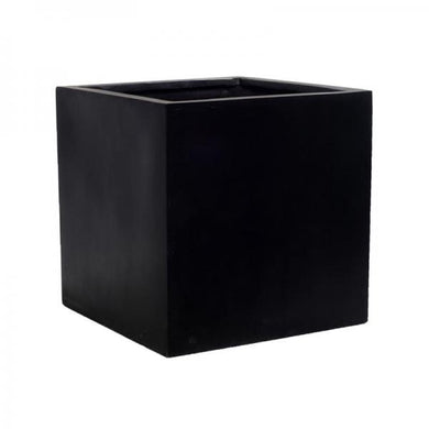 Block Fiberstone Pot Black 16