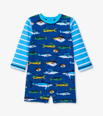 Game Fish Baby Rash Guard