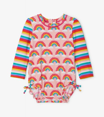 Magical Rainbows Rashguard Swimsuit