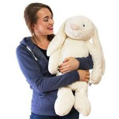 Jellycat really big bashful cream bunny