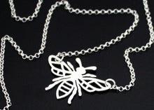 Load image into Gallery viewer, Manchester Worker Bee necklace