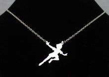 Load image into Gallery viewer, Peter Pan Necklace in Sterling Silver