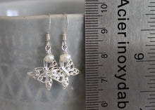 Load image into Gallery viewer, Butterfly Earrings in Sterling Silver