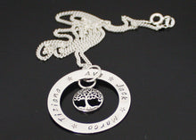 Load image into Gallery viewer, Personalized Tree of Life Necklace