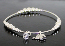 Load image into Gallery viewer, Sterling Silver Elephant Bracelet