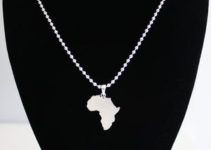 Africa Necklace in Sterling Silver