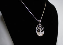 Load image into Gallery viewer, Large Tree of Life Necklace in Sterling Silver