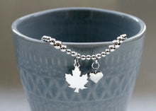Load image into Gallery viewer, Maple Leaf Bracelet