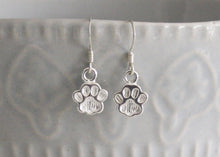 Load image into Gallery viewer, Dog Paw Earrings