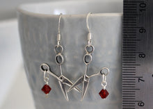 Load image into Gallery viewer, Scissor Earrings