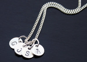 Personalized Initial Tag Necklace