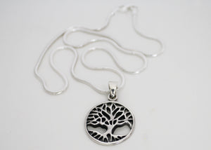 Tree of Life in Sterling Silver