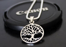 Load image into Gallery viewer, Tree of Life Necklace Personalized Solid Silver